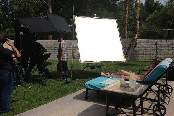 outdoor shoot